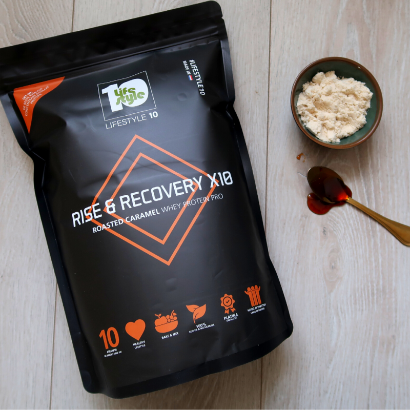 Whey Protein Pro: RISE & RECOVERY   Roasted Caramel