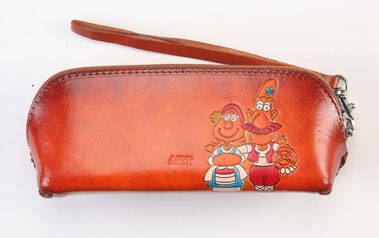 Leather case 18x7x6 CM ref 475203