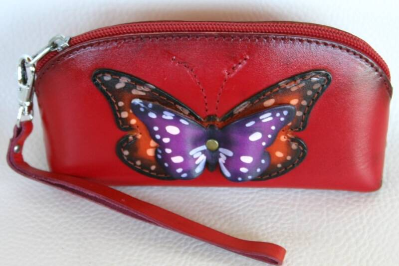 Leather Pencil case 17x8x6 CM ref 445422