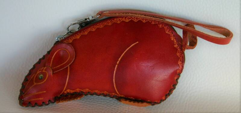 Leather case 16x8x4 CM ref 443613