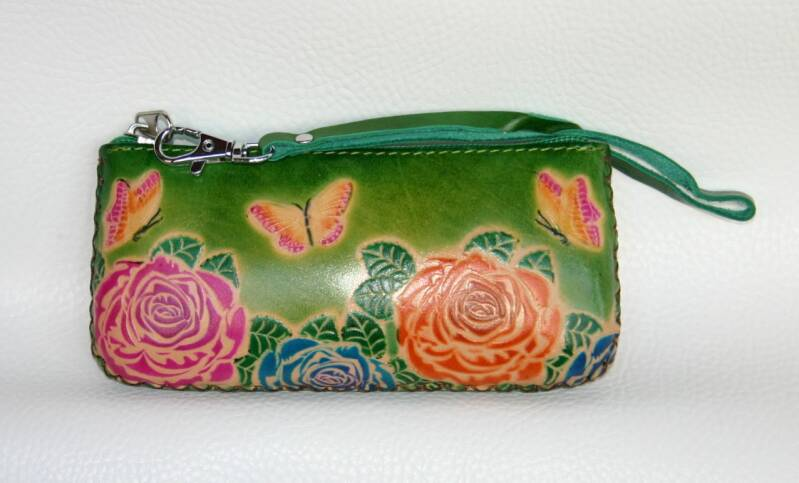 Leather Pencil case 17x8x3 CM ref 470717