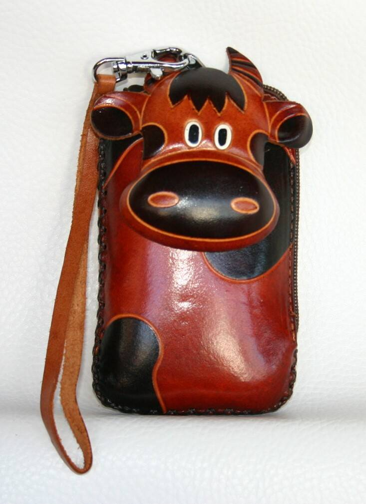 Leather case 14x8x3 CM ref 447973