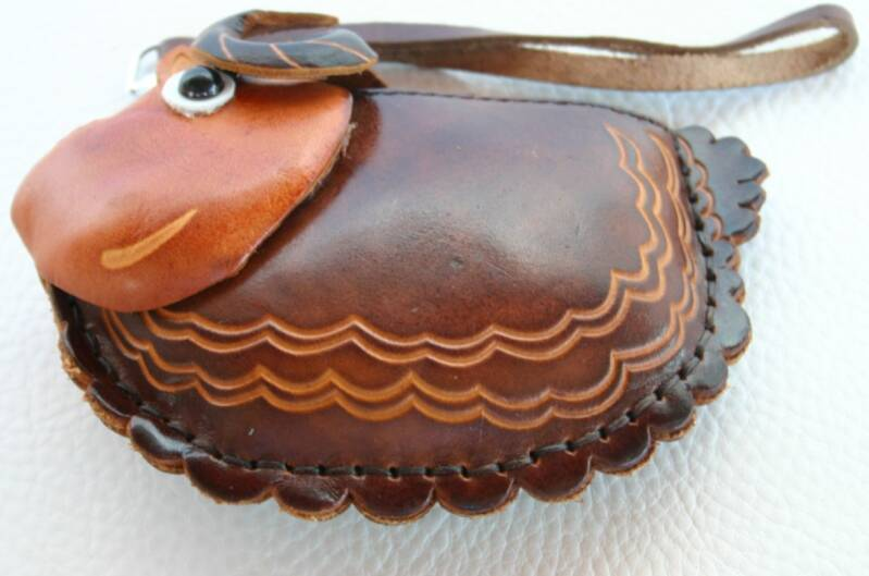 Leather case 14x18x3 CM ref 4446194
