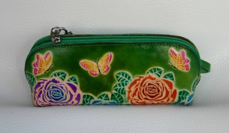 Leather Pencil case 19x8x6 CM ref 475177