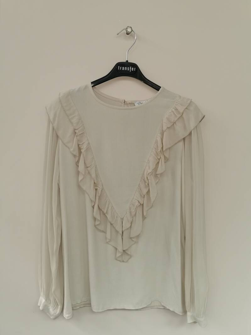 Transfer Ruffle Top
