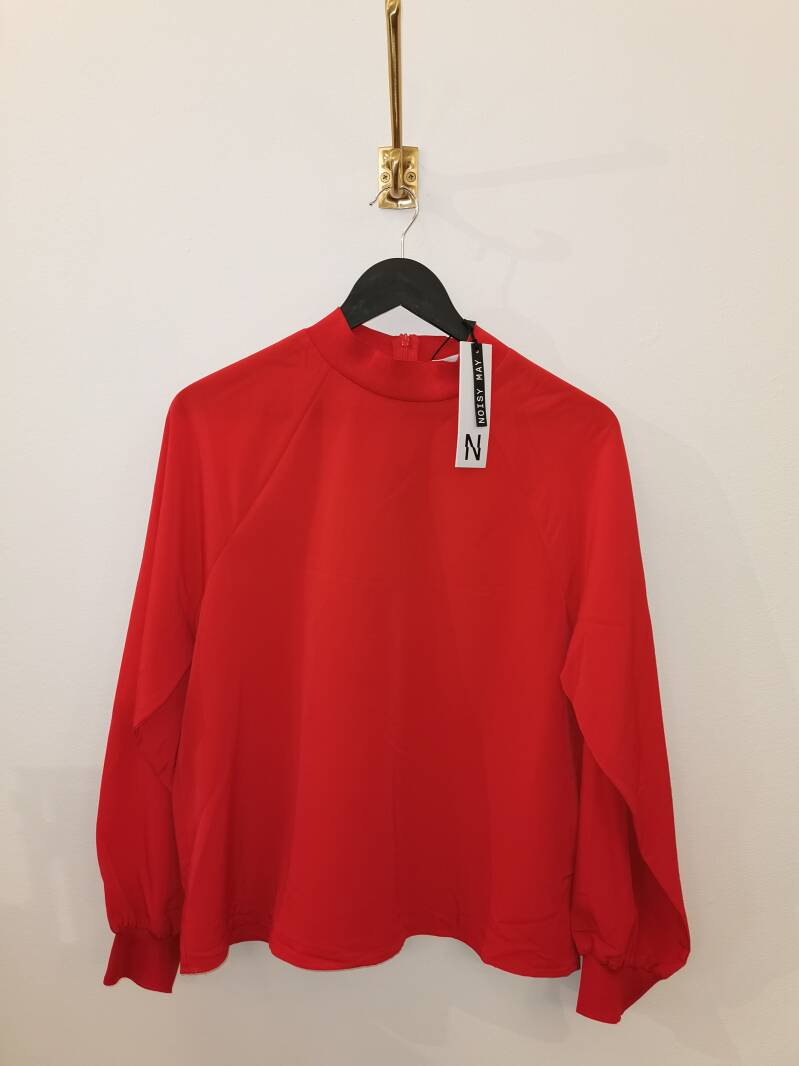 Blouse Noisy May Chinese Red - Maat L