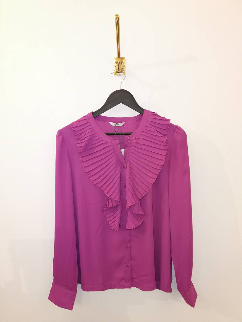 Blouse Only roze - Maat 40