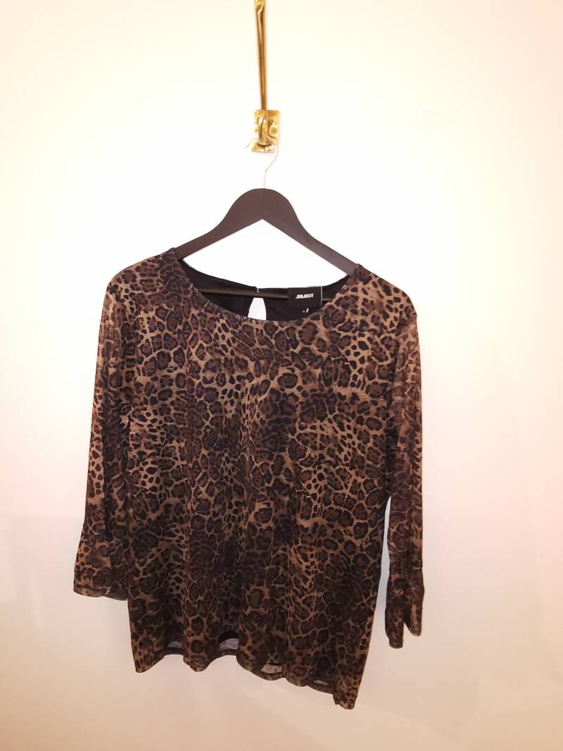 Blouse Object leopald - Maat XL1