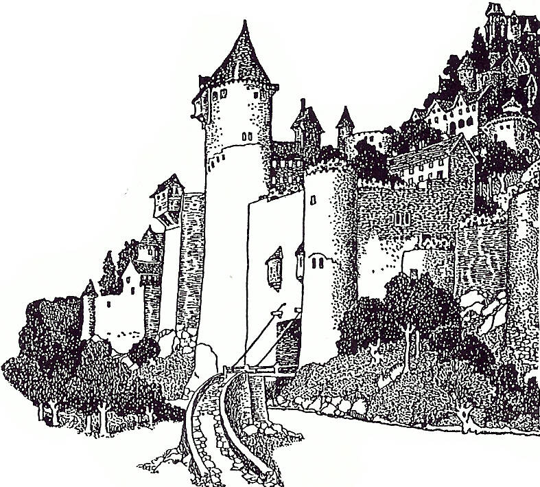 EI M1191/09/32a Hillside castle