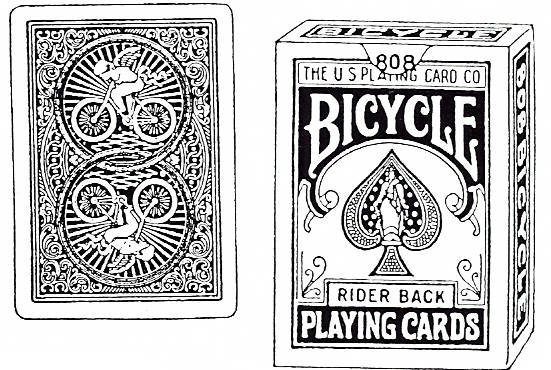 EI K1919/51 Playing card + Bicycle cards