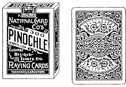 EI K1920/51 Playing card + Pinochle cards