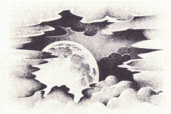 197E Cloud with rising moon sm