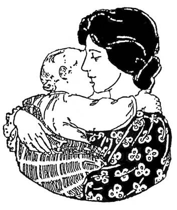 EI F2010/87 Mother and child