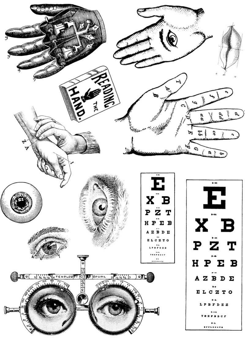 FASPL30 Plate 30 Hands and eyes