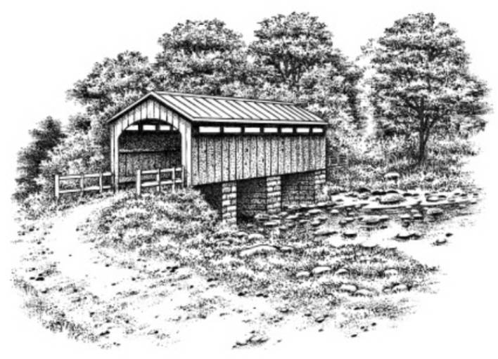 319F Covered bridge sm