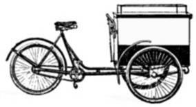 SW B06131/43 Bakfiets