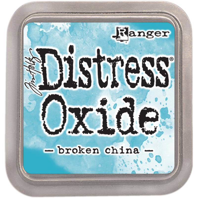 Distress Oxide Broken China pad