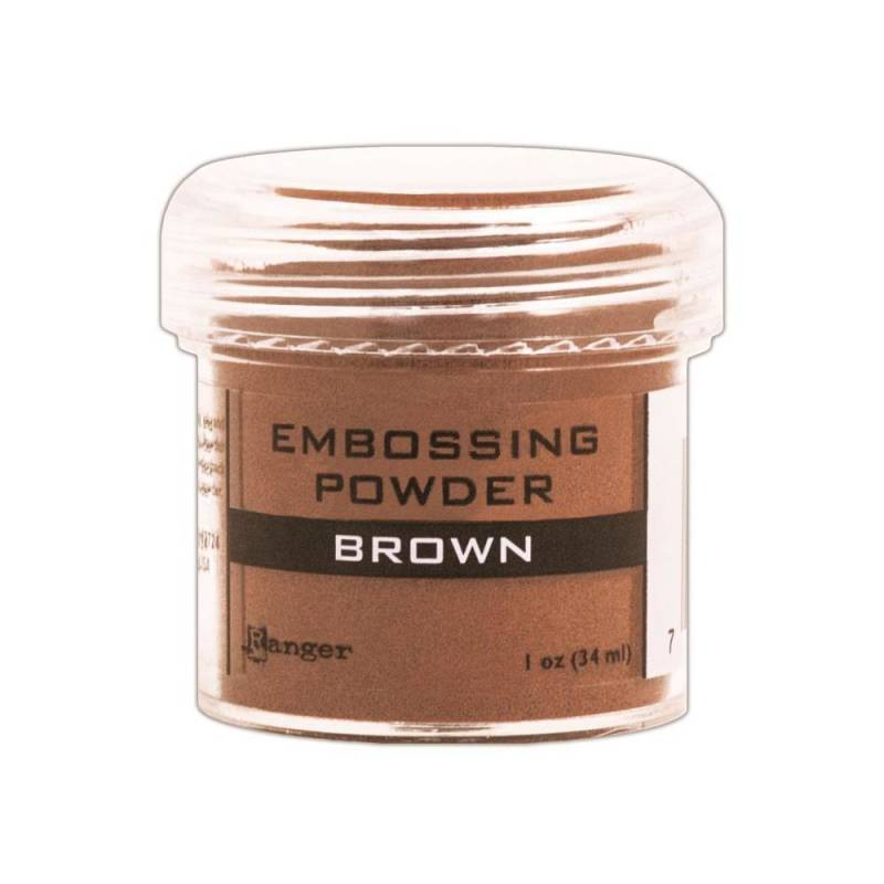 Embossingpoeder Brown