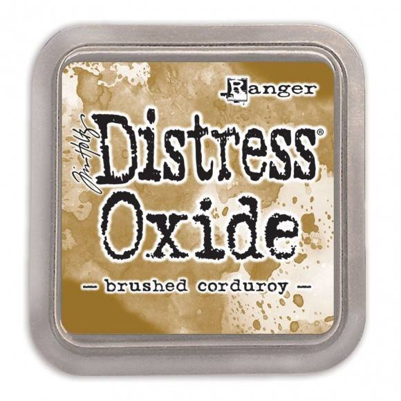 Distress Oxide Brushed Corduroy pad