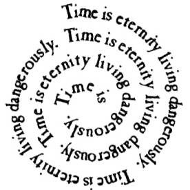 NS C6907 Time is eternity circle sm