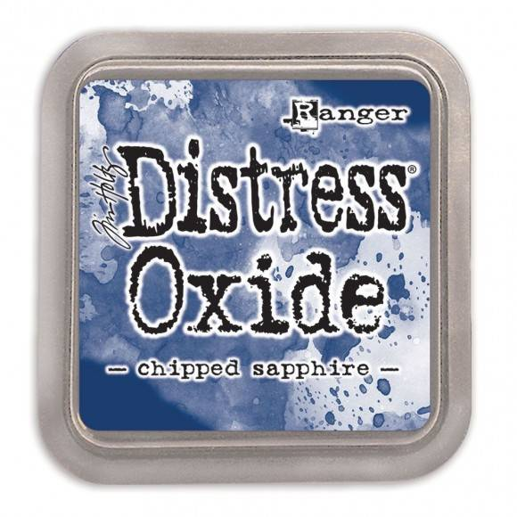 Distress Oxide Chipped Sapphire pad