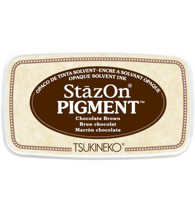 StazOn Pigment Chocolate Brown
