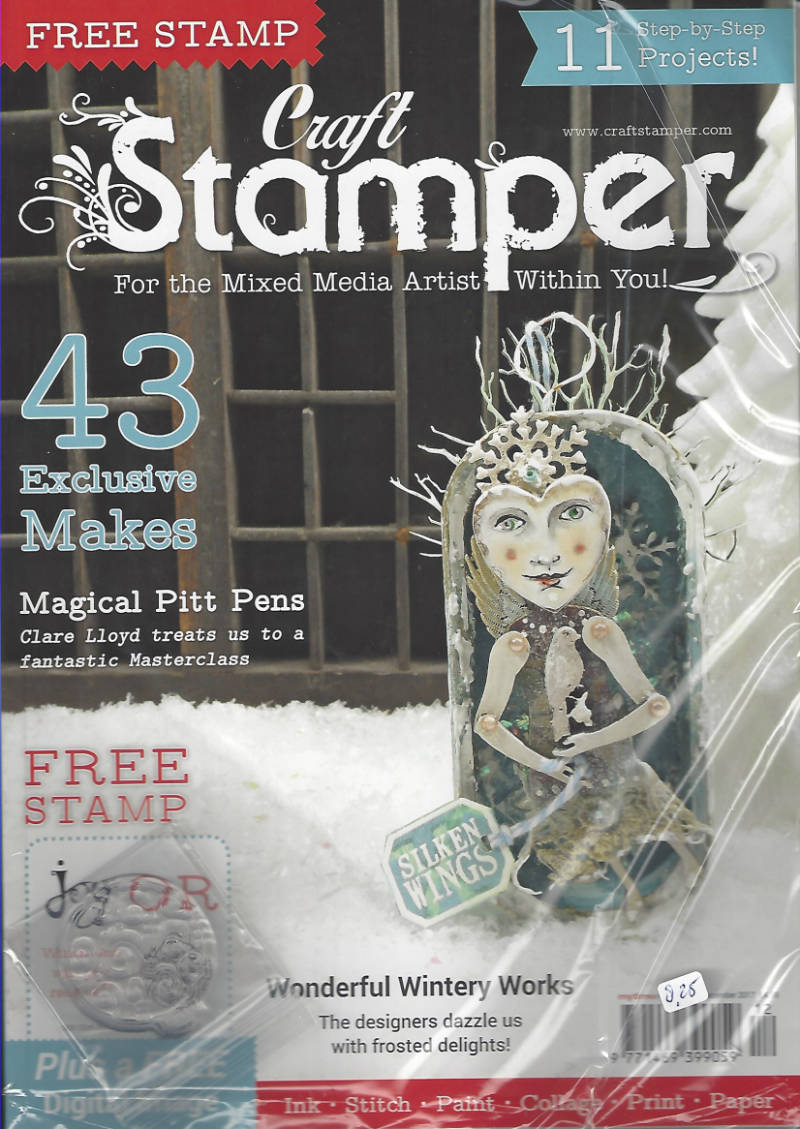 Craft Stamper december 2017
