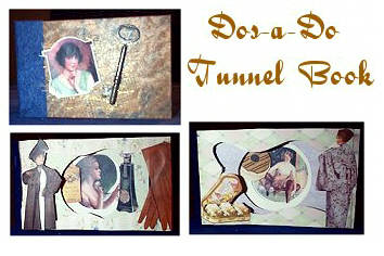 Dos-a-do tunnelbook