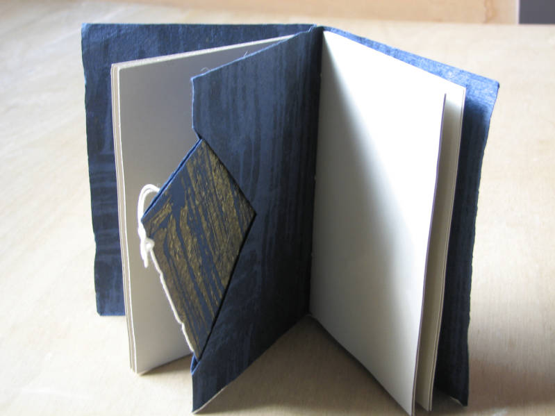 Double book with niche