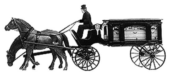 CP G228 Carriage hearse