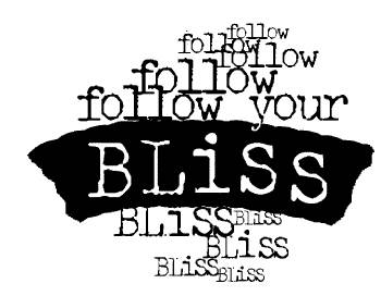 CP G246 Follow your bliss