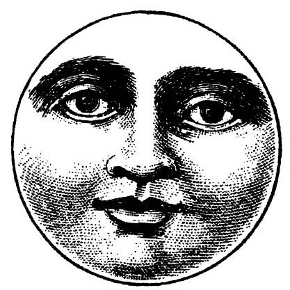 NS G8203 Moon with face