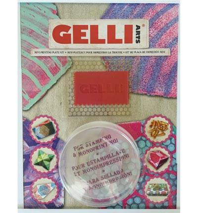 Gelli plate mini kit hexagon