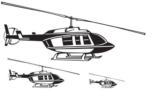 SW L19008/217 Helikopters