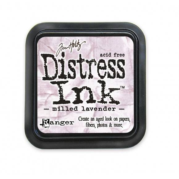 Distress Milled Lavender pad