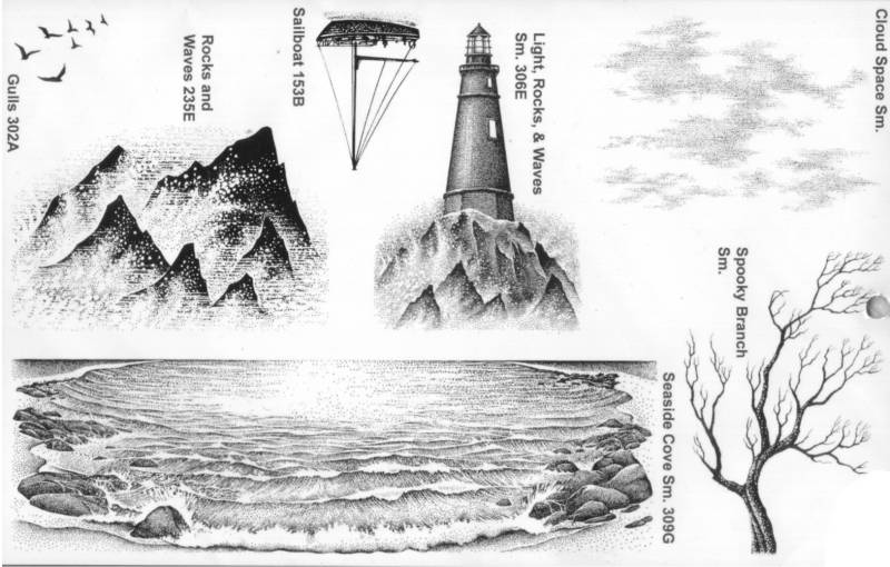 26B-UM Nature UM sheet 12 Lighthouse sm