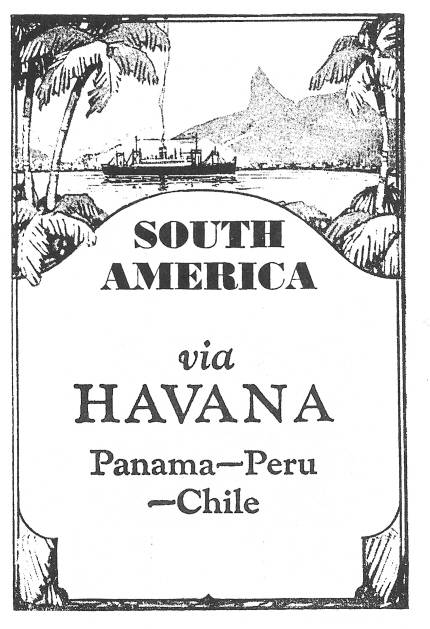 SW P06081/36 Poster South America