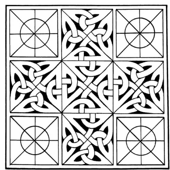 NS P7804 Celtic quilt