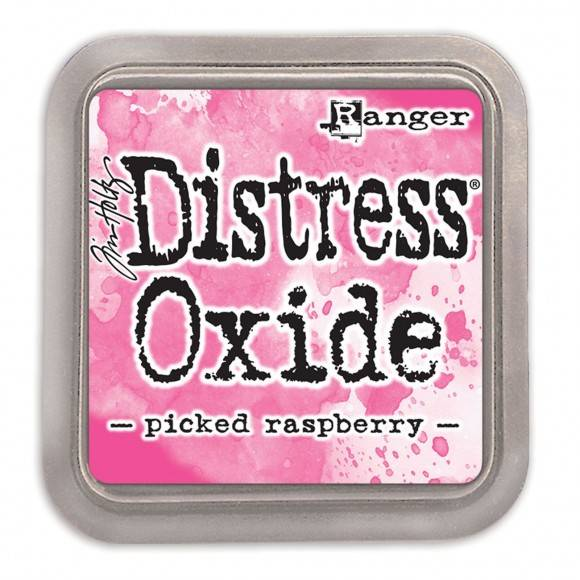 Distress Oxide Picked Raspberry pad