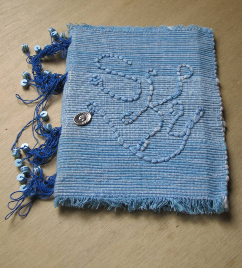 Placemat book with looped binding