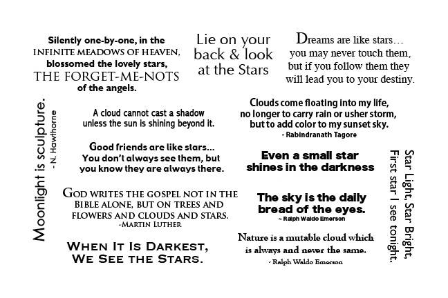 28B-UM Sentiments UM sheet 2 Sky/clouds/stars