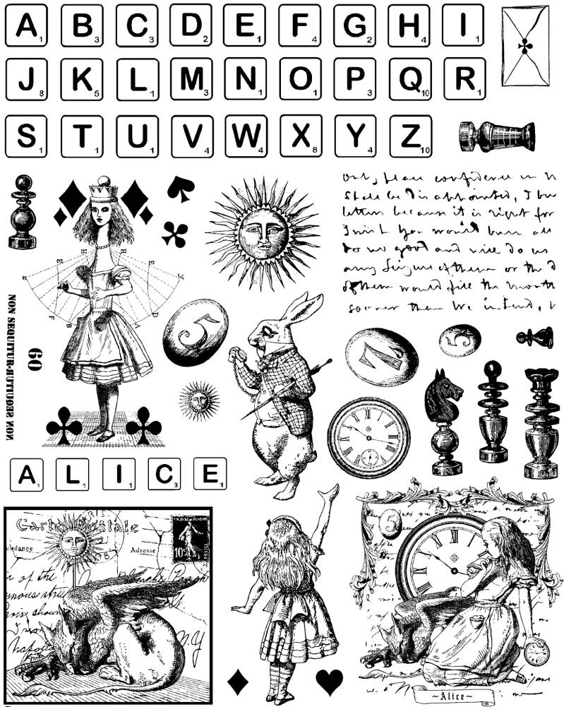 NSPL060 Plate 060 Scrabble and other whimsies