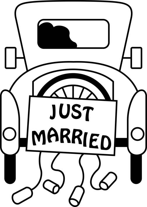 SW Q17020/196 Just Married