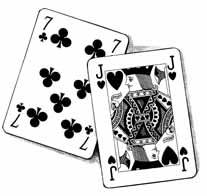 CP Q448 Playing cards