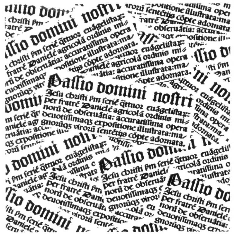 NS S8309 Latin text background