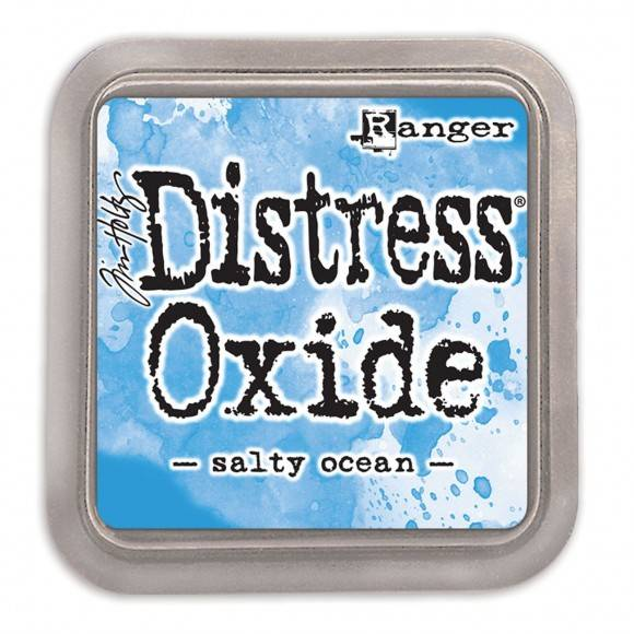 Distress Oxide Salty Ocean pad
