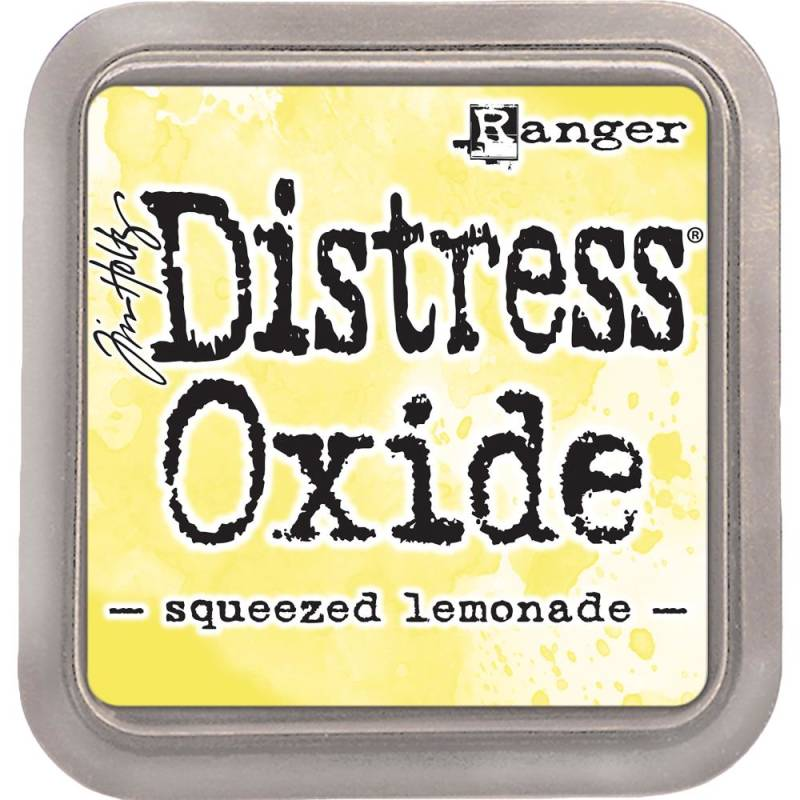 Distress Oxide Squeezed Lemonade pad