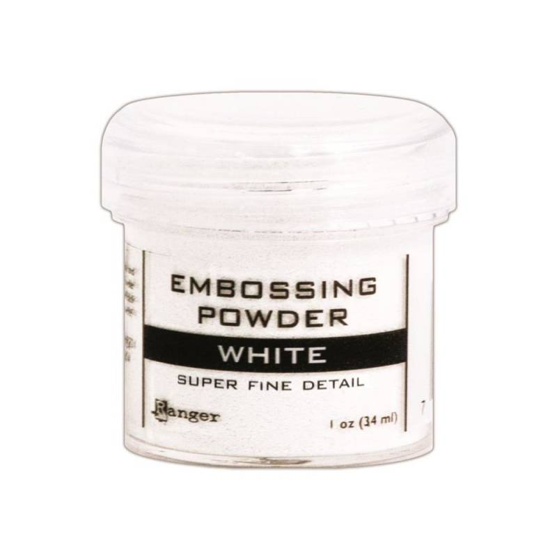 Embossingpoeder White superfine