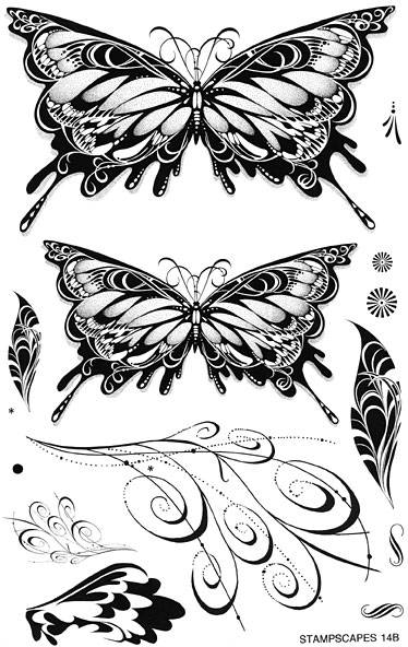 14B-UM Symmetry sheet 3 Butterflies