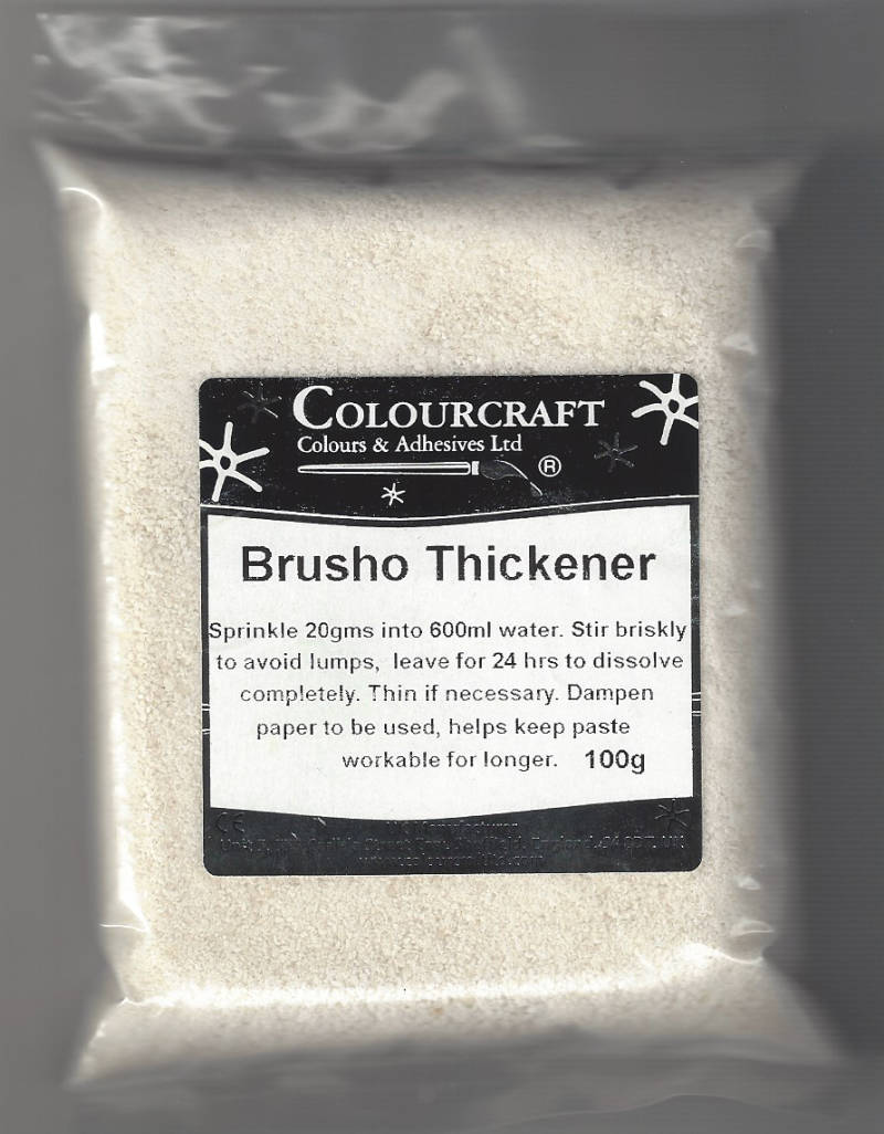 Brusho Thickener